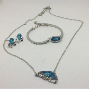 Jewelry - Sterling silver butterfly jewelry set NWOT